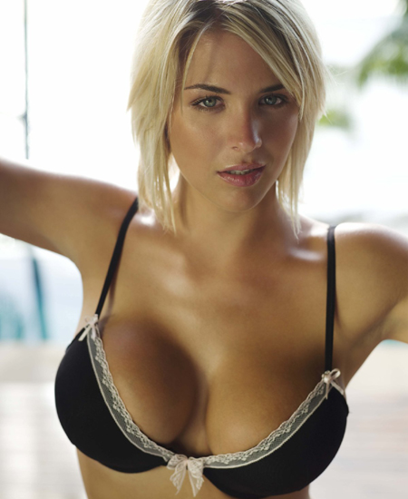 Bet on Gemma Atkinson to go topless in Jungle Now